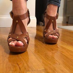 Michael Kors Brown 4 1/2 -3/4 heel